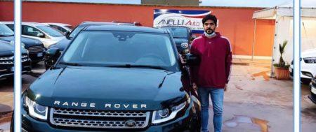 Consegna Land Rover RR Evoque