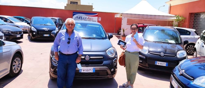Consegna Fiat 500X City Cross