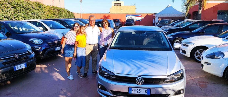 Consegna Volkswagen Polo