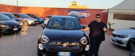 Consegna Fiat 500 X Sport